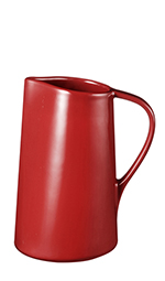 Emile Henry 341540 1-qt Pitcher - Freezer to Oven, Ceramic, Brick