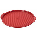 "Emile Henry 347612 12.6"" Medium Pizza Stone, Burgundy"