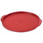 "Emile Henry 347614 14.6"" Large Pizza Stone, Burgundy"