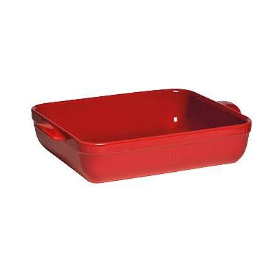 "Emile Henry 349642 Ceramic Lasagna Dish w/ 5-qt Capacity, 13.8x10x2.75"", Burgundy"