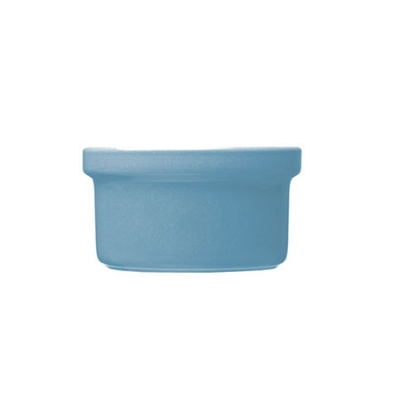 Emile Henry 451028 EA 6 oz Ceramic Stackable Ramekin, 3-1/2 in Diameter, Sky Blue