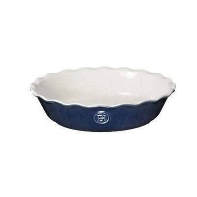 "Emile Henry 556121 9"" Round Pie Dish w/ 1.7-qt Capacity, Twilight"