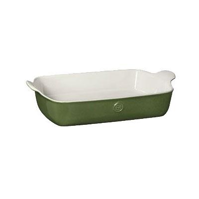 "Emile Henry 629626 4.7-qt Ceramic Baking Dish, 13x9"", Spring"