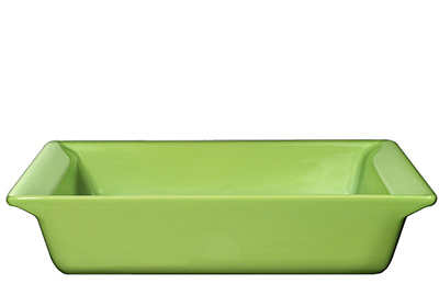 Emile Henry 752004 10-in Urban Colors Square Baking Dish, Ceramic, Apple Green
