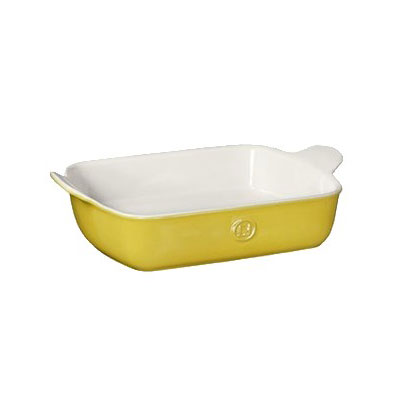 "Emile Henry 859620 Ceramic Baker w/ 3-qt Capacity, 11x8"", Leaves"