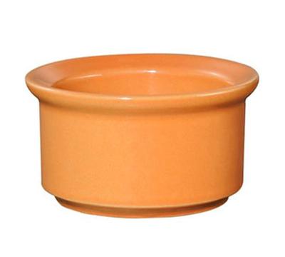 """Emile Henry 861030 6-oz Ramekin - 4"""" Diameter, Ceramic, Tangerine"""