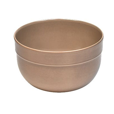 "Emile Henry 966522 7"" Round Ceramic Mixing Bowl w/ 1.7-qt Capacity, Oak"