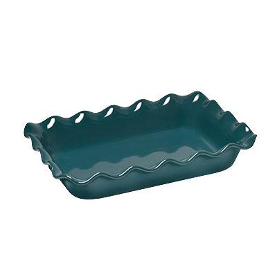 "Emile Henry 971987 3.3-qt Ceramic Baking Dish, 14x10x2.75"", Blue Flame"