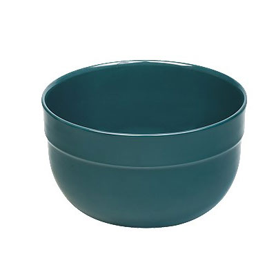 "Emile Henry 976526 10"" Round Ceramic Mixing Bowl w/ 5.8-qt Capacity, Blue Flame"