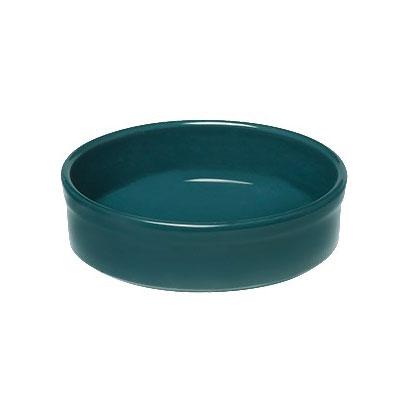 """Emile Henry 977111 4.75"""" Round Ceramic Creme Brulee Dish w/ 6.75-oz Capacity, Blue Flame"""