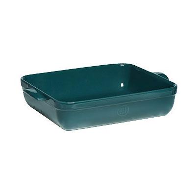 "Emile Henry 979642 Ceramic Lasagna Dish w/ 5-qt Capacity, 13.8x10x2.75"", Blue Flame"