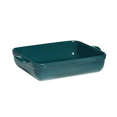 "Emile Henry 979644 6.3-qt Ceramic Baking Dish, 16.75x11x3"", Blue Flame"