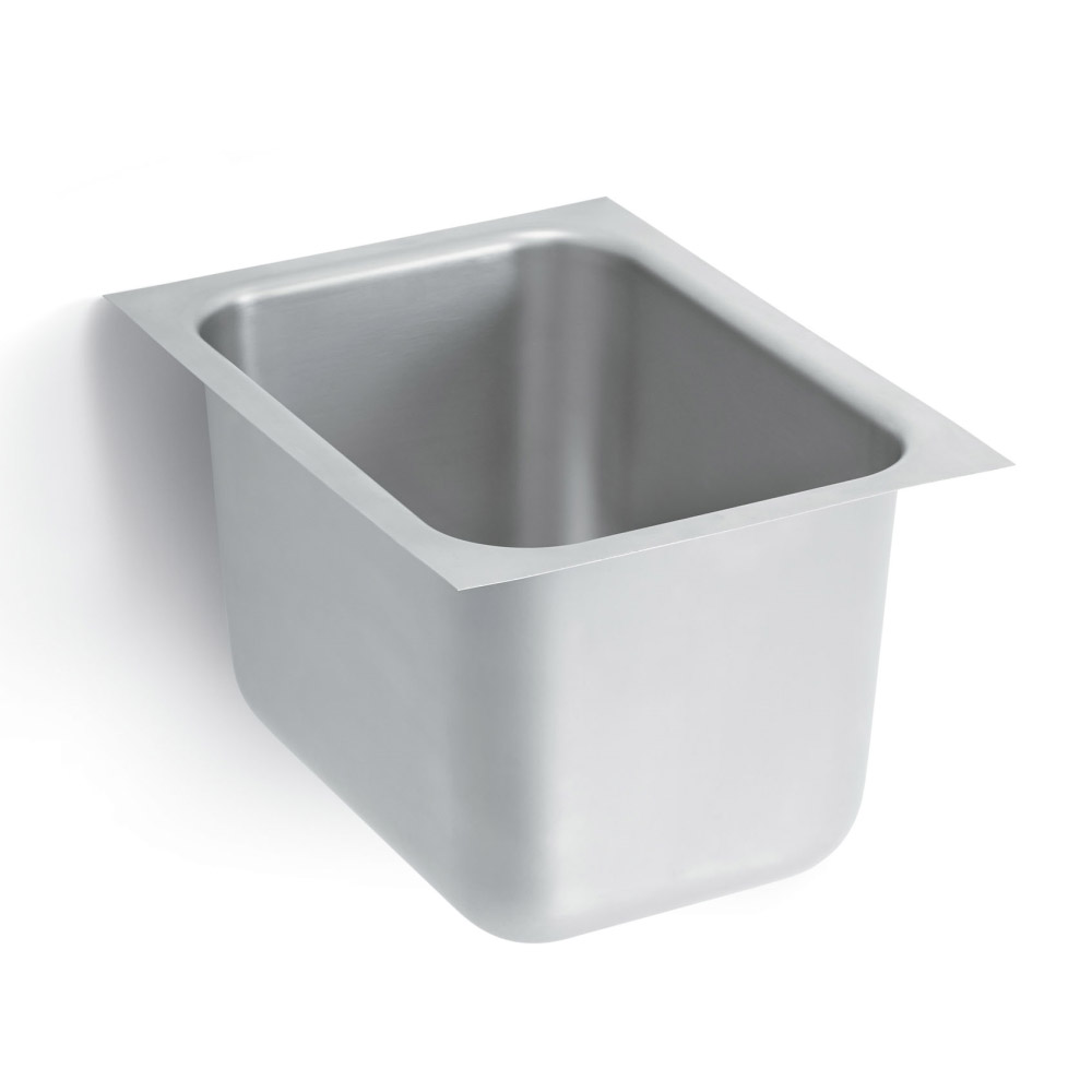 "Vollrath 10101-0 (1) Compartment Undermount Sink - 14"" x 10"""
