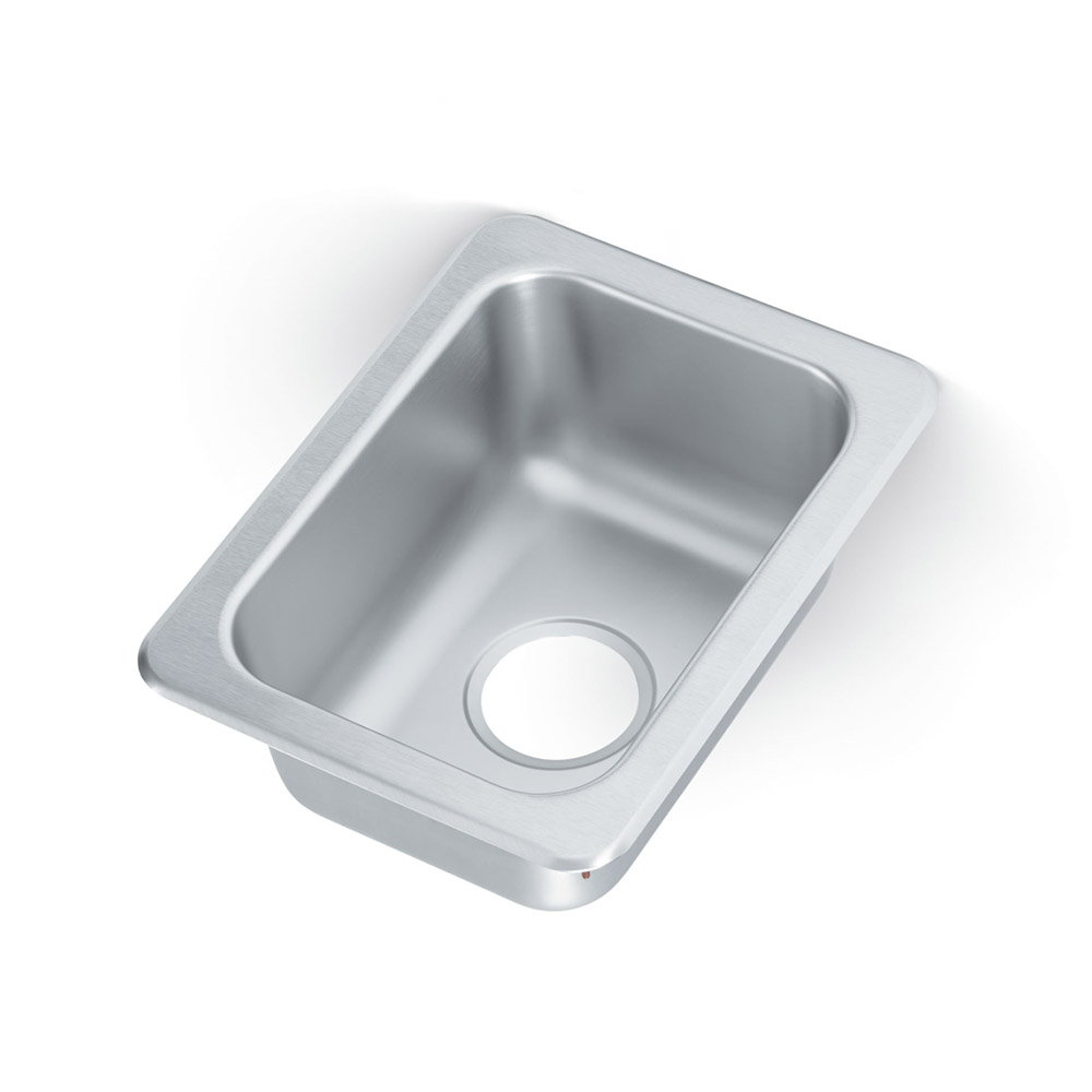 "Vollrath 131-9 Yukon Drop-In Sink, 1-Compartment, 13x10.75"", Stainless"
