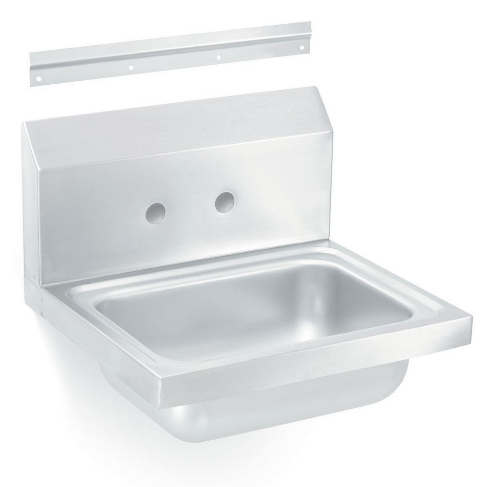 "Vollrath 141-0 Wall-Mounted Hand Sink w/ 5.5"" Bowl"