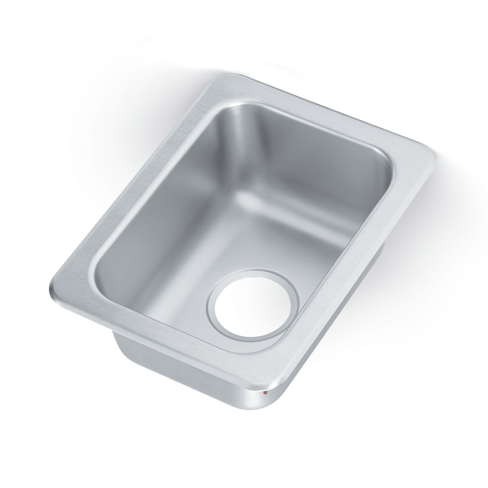 "Vollrath 1731 Yukon Drop In Sink, 1 Compartment, 13x17"", Stainless"