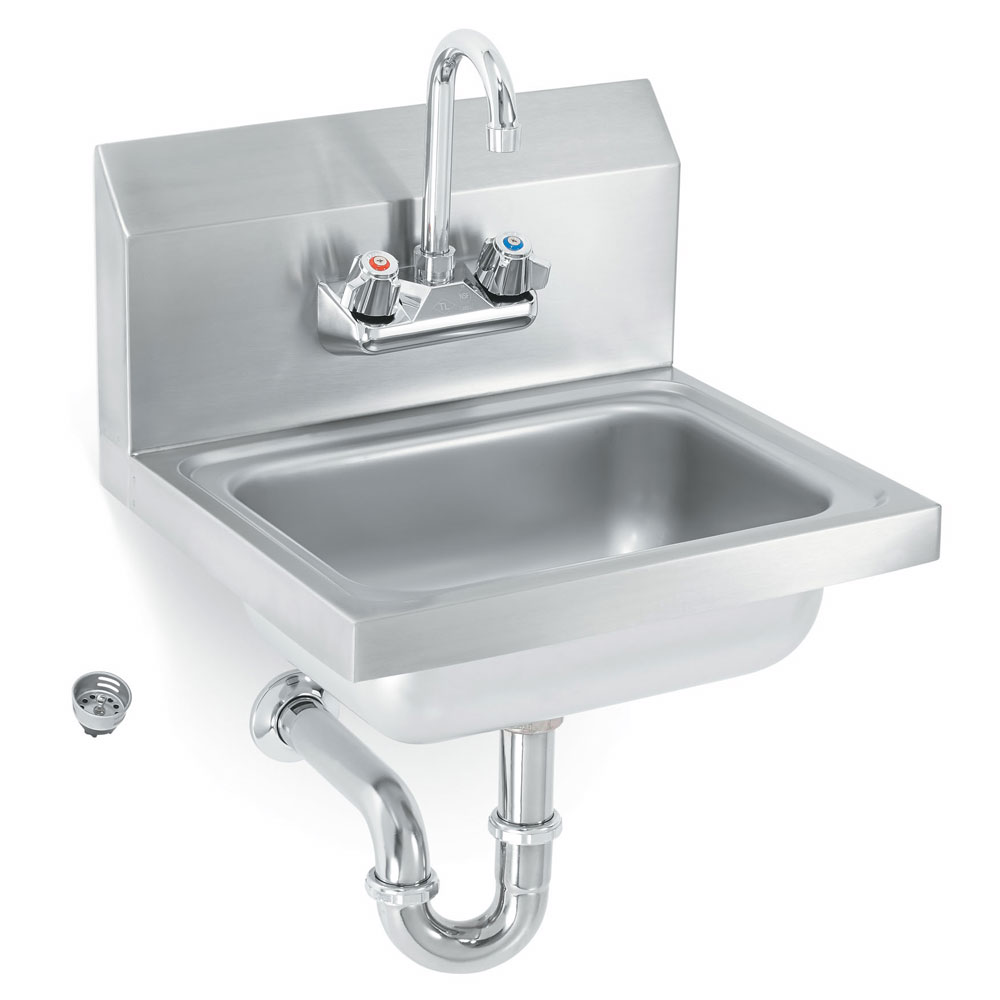 Vollrath K1410cs Wall Mount Commercial Hand Sink W 17 Quot L X