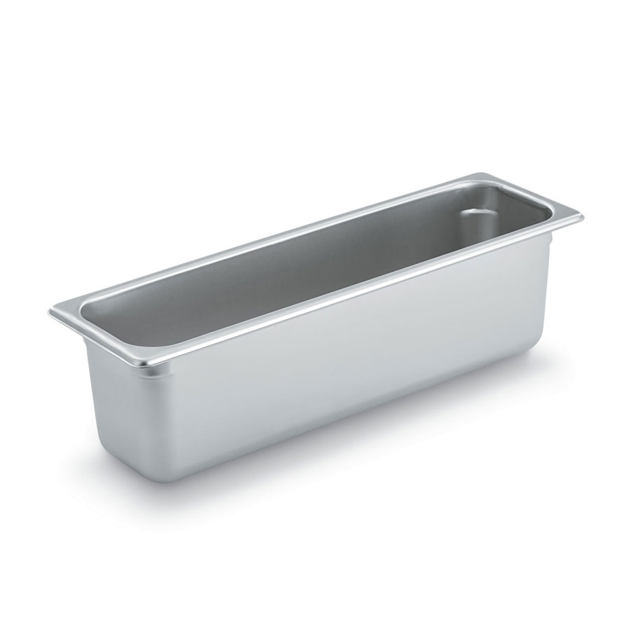 Vollrath S20066 Half-Sized Long Steam Pan, Stainless