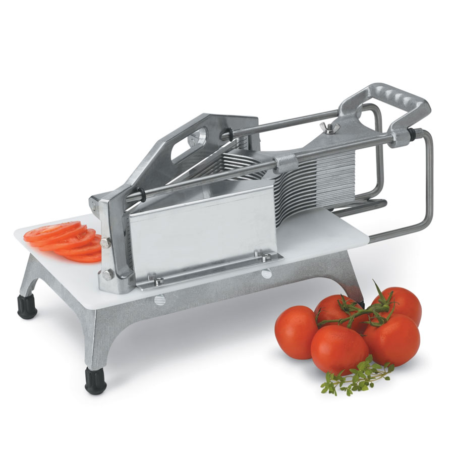 """Vollrath 0643SGN Tomato Pro Cutter, 3/16"""" Cut, Straight Blades, Safety Guard"""