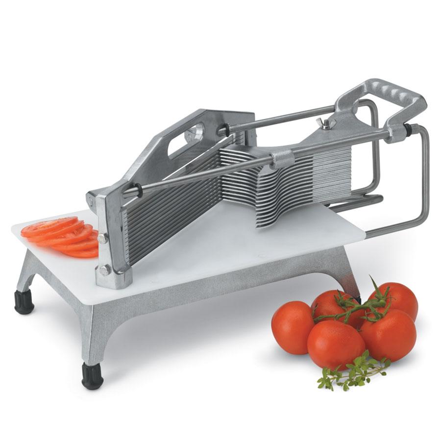 "Vollrath 0644N Tomato Pro Cutter, 1/4"" Cut, Straight Blades"