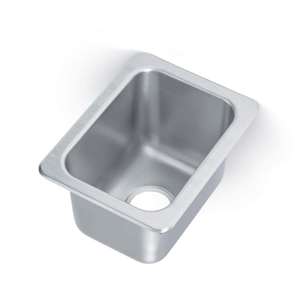 "Vollrath 101-1-1 Yukon Drop-In Sink, 1 Compartment, 13x17"", Stainless"