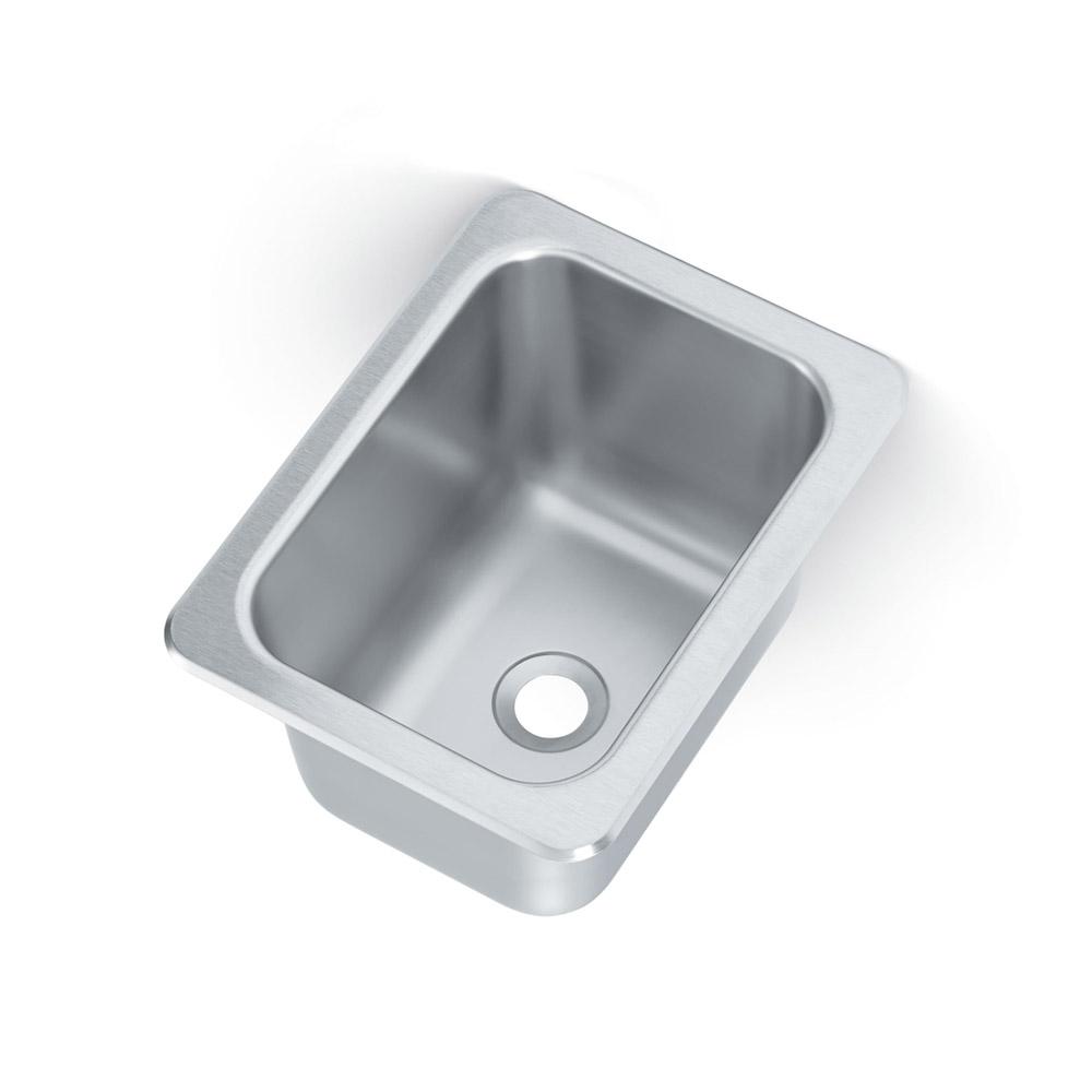 "Vollrath 101-1-2 (1) Compartment Drop-in Sink - 10"" x 14"""