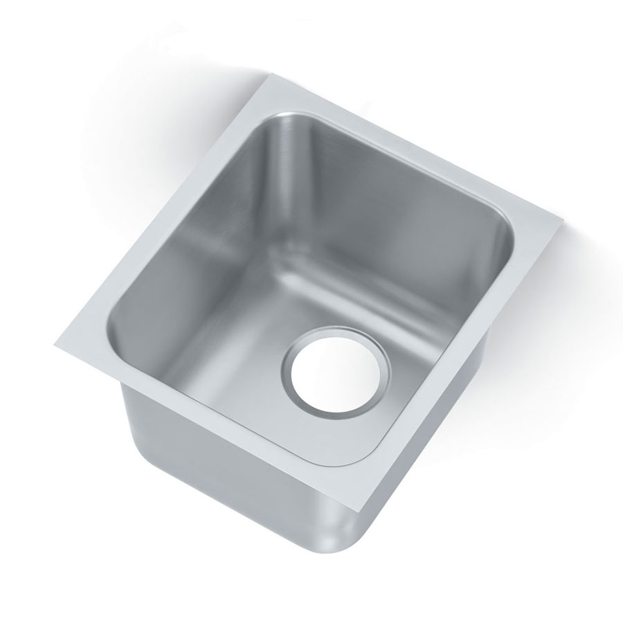 Vollrath 121011 1-Compartment Institutional Weld-In Undermount Sink w/ Square Corners
