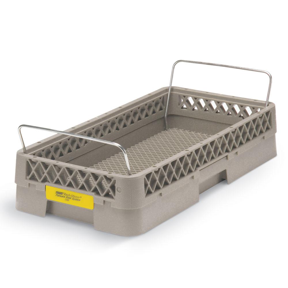 Vollrath 1300 Dishwasher Rack For Flatware - Handles, Half-Rack Open, Beige