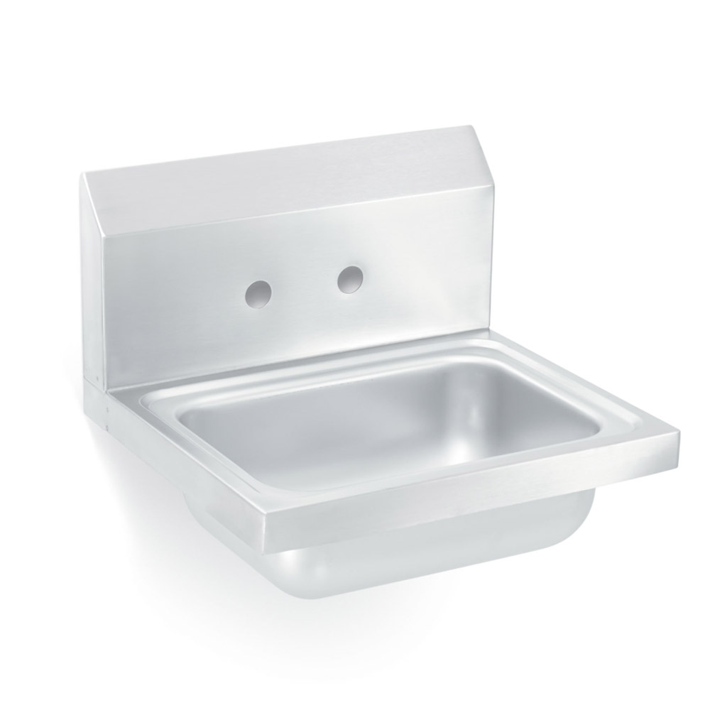"Vollrath 1411 Wall Mount Commercial Hand Sink w/ 17""L x 15""W x 5.5""D Bowl"