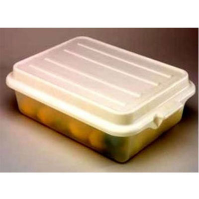 """Vollrath 1500-C13 Food Storage Box Cover - Snap-On, 22-1/8x15-5/8x2-1/2"""", Poly, Clear"""