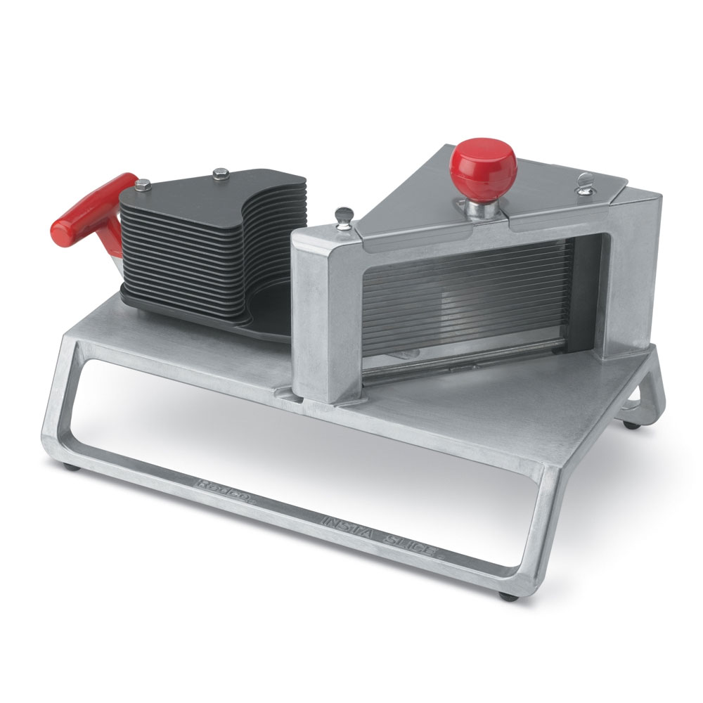 "Vollrath 15105 InstaSlice Tomato Slicer, 3/16"" Cut, Scalloped Blades"