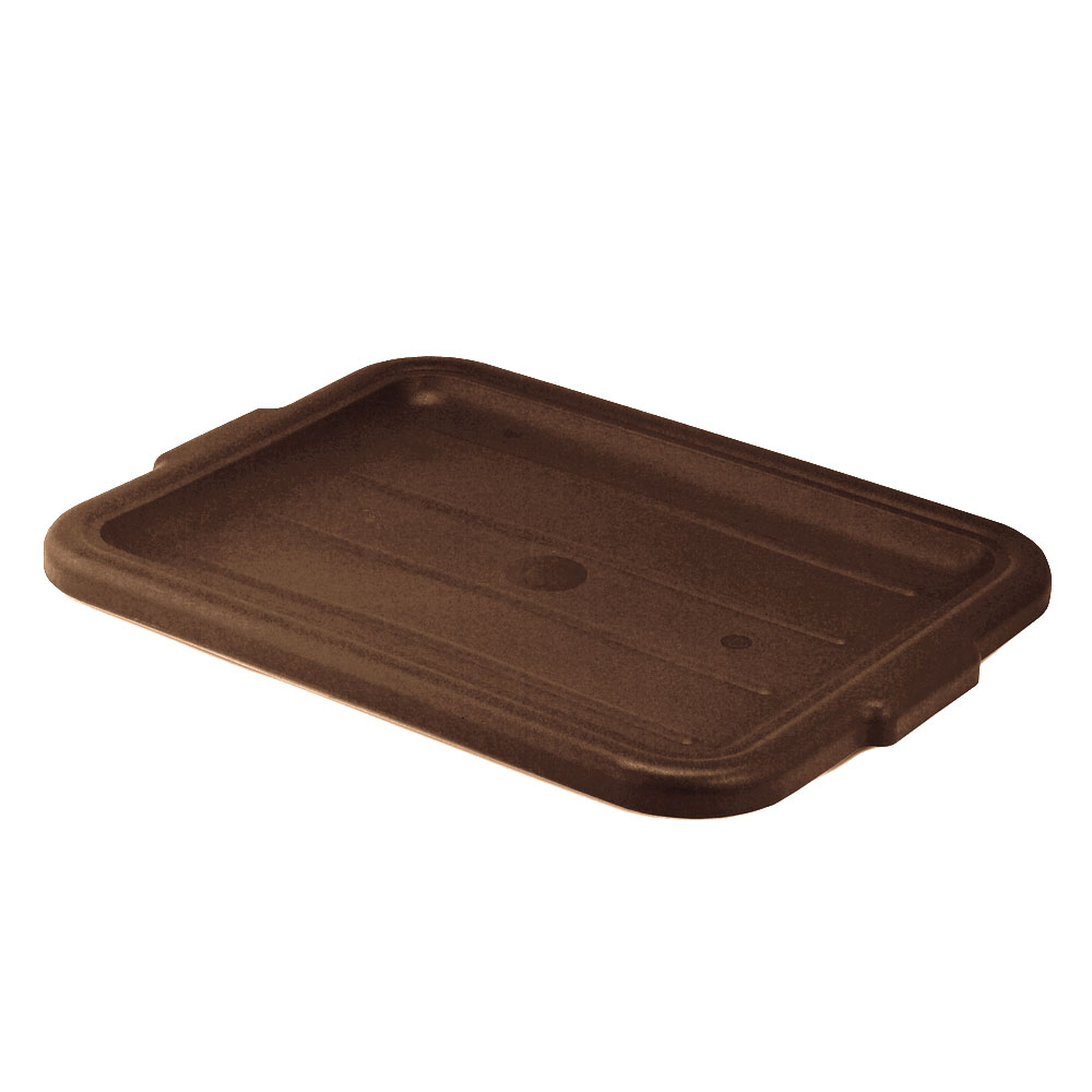 Vollrath 1522-01 Economy Bus Box Lid, Brown