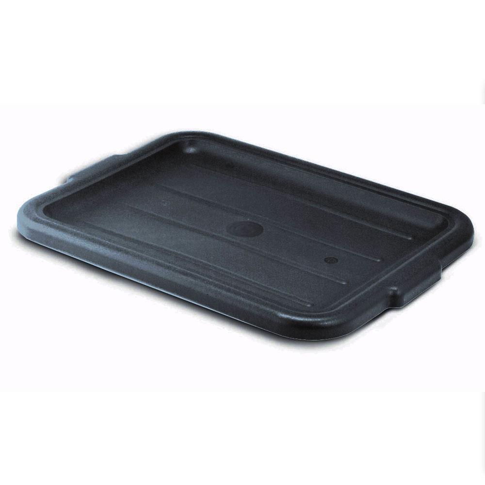 """Vollrath 1522-06 Bus Box Cover - 15x20"""", Plastic, Black"""