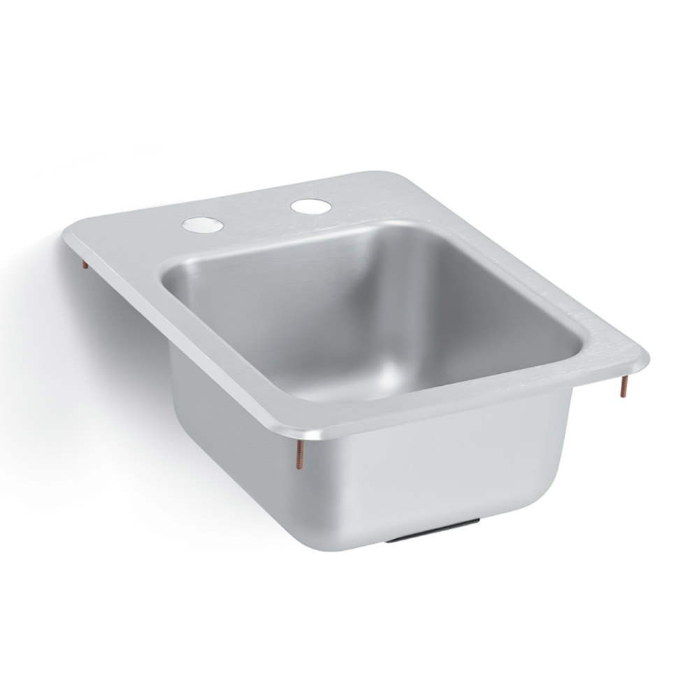 "Vollrath 173-4-2 (1) Compartment Drop-in Sink - 10"" x 11"""