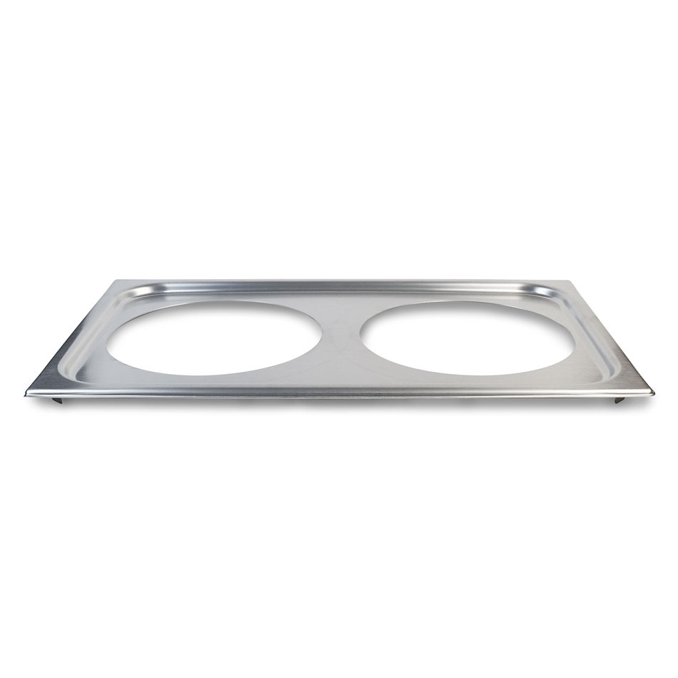 "Vollrath 19192 Adaptor Plate - (2) 8-3/8"" Inset Holes"