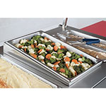 Vollrath 19196 Angled Adapter Plate, Full Size, Stainless Steel