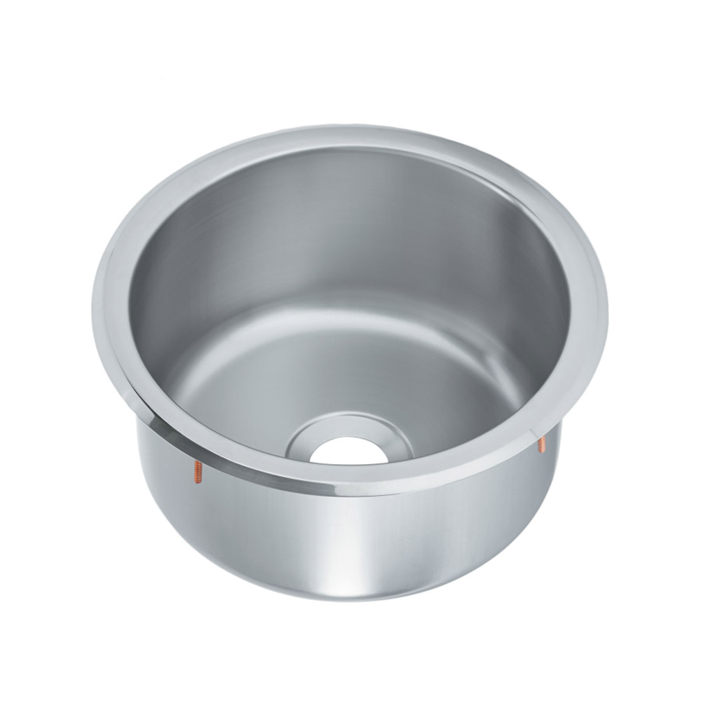 "Vollrath 201260 10-5/16"" Round Drop-In Stainless Sink, 5.75"" Deep"