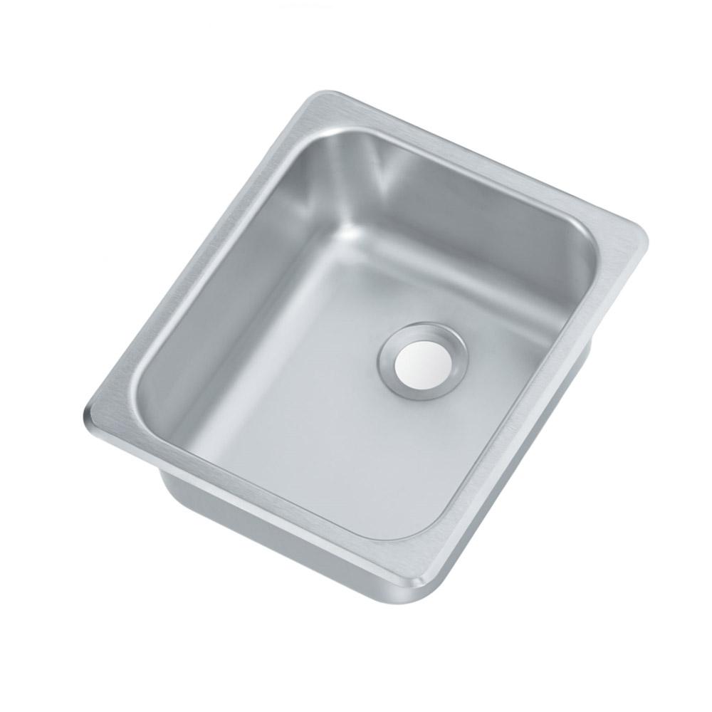 "Vollrath 212560 (1) Compartment Drop-in Sink - 11"" x 13.25"""