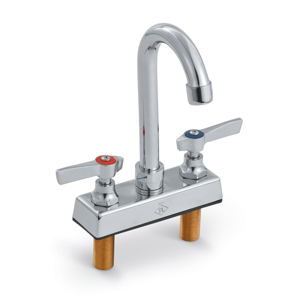 "Vollrath 2612 Bar Faucet, Deck Mounted, 4"" Centers"