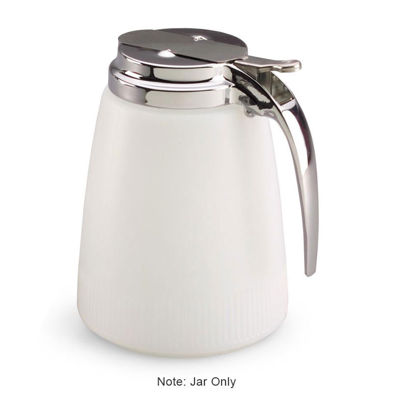 Vollrath 2748J 48-oz Syrup Server Replacement Jar - White