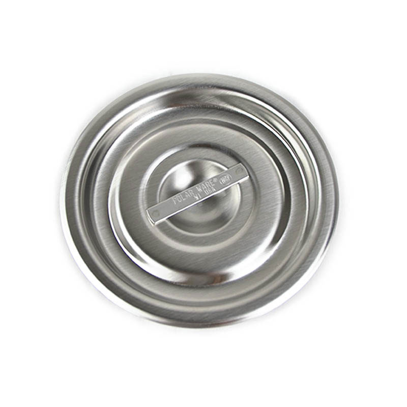 Vollrath 2Y2 Bain Marie Pot Cover, Fits 2-1/16 Qt. Size Pot, Stainless Steel, NSF