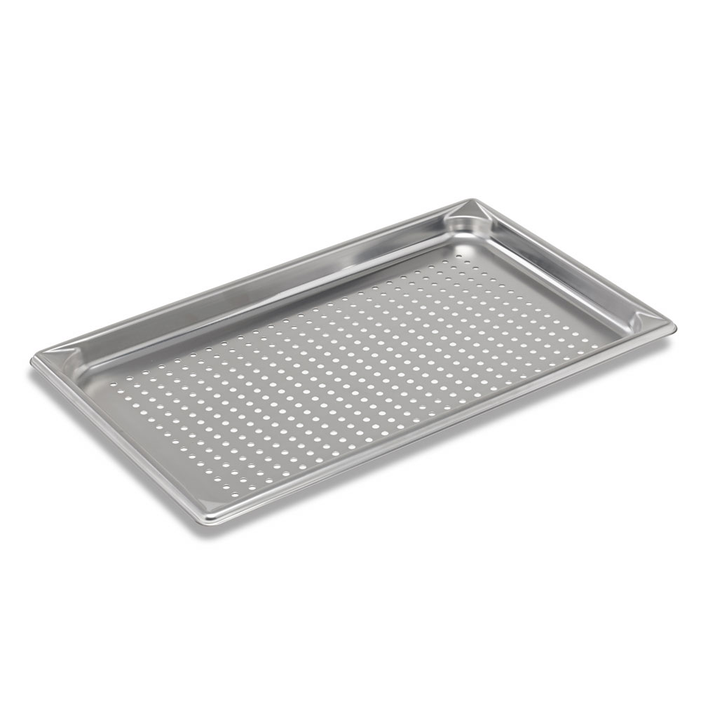 Vollrath 30013 Super Pan V Full-Size Steam Pan - Perforated, Stainless