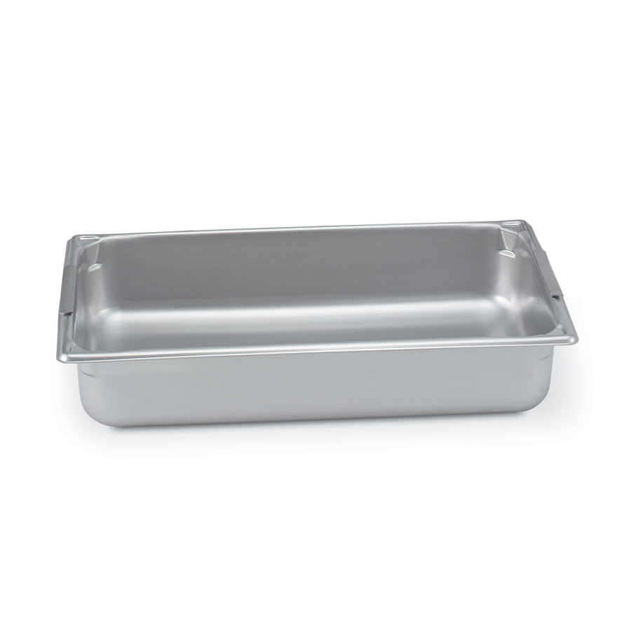 Vollrath 30046 Super Pan Full-Size Steam Pan w/ Handles, Stainless