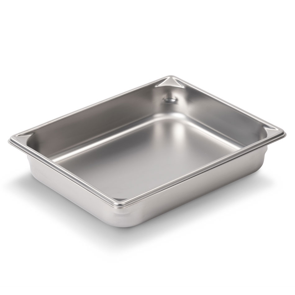 Vollrath 30122 Super Pan V Two-Third Size Steam Pan, Stainless
