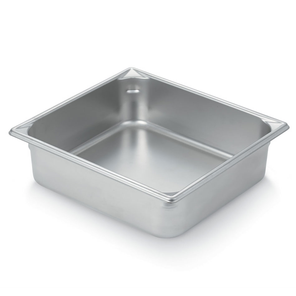 Vollrath 30142 Super Pan V Two-Third Size Steam Pan, Stainless