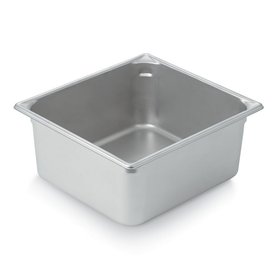 Vollrath 30162 Super Pan V Two-Third Size Steam Pan, Stainless