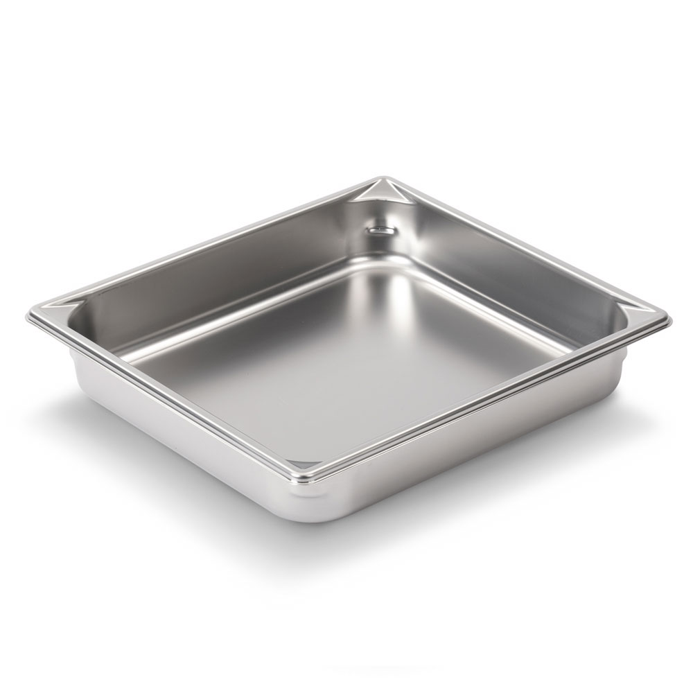 Vollrath 30222 Super Pan V Half-Size Steam Pan, Stainless