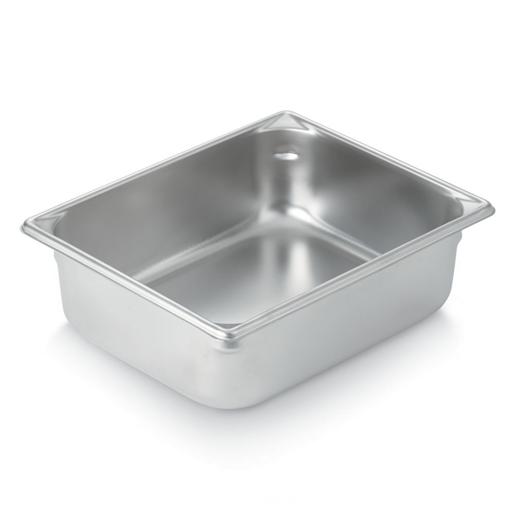 Vollrath 30245 Super Pan Half-Size Steam Pan, Stainless