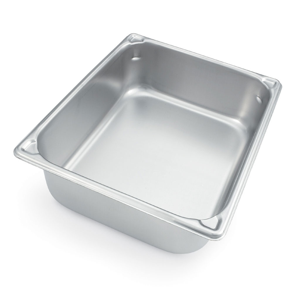 Vollrath 30260 Super Pan II Half Size 6 in Deep Reinforce Corner Restaurant Supply