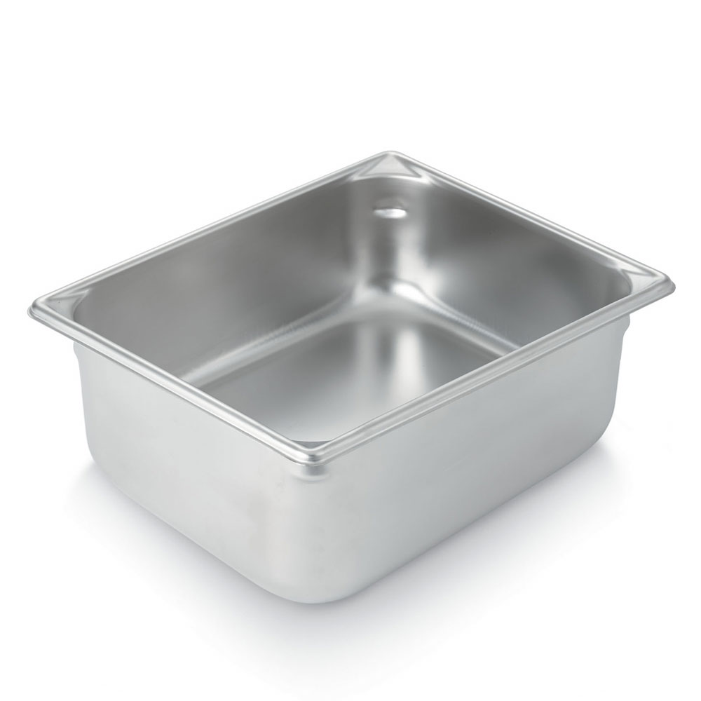 Vollrath 30288 Super Pan Half-Size Steam Pan, Stainless